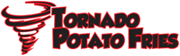 Tornado Potato Fries Logo